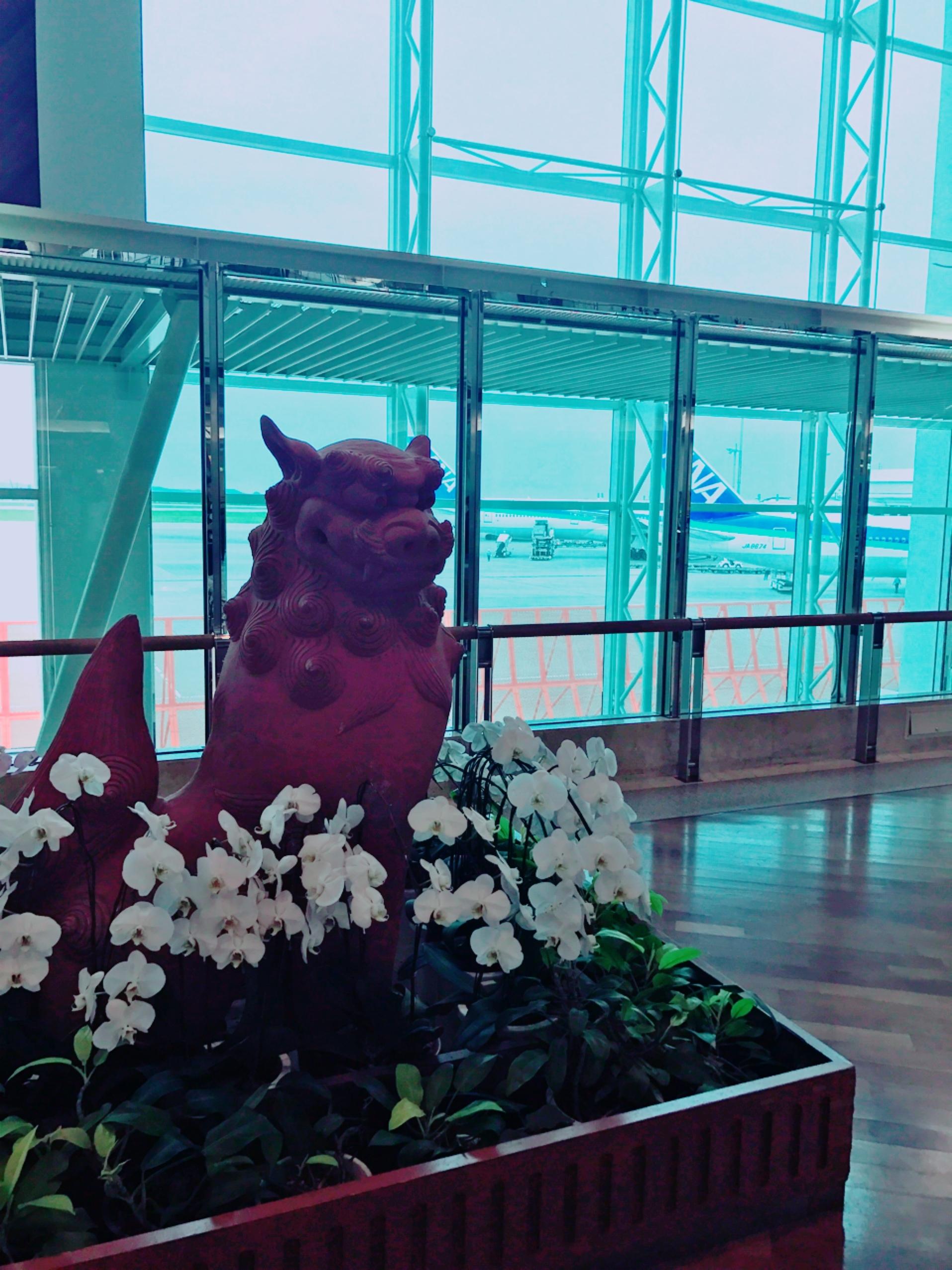 那覇空港ロビー